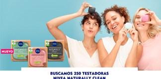 Buscan 250 testadoras de Nivea Naturally Clean