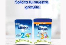 Muestras gratis de Miltina
