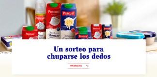 Pascual sortea 5 lotes de nata y mantequilla