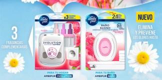 Prueba gratis Ambipur Baño y 3volution