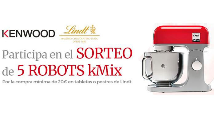 Sorteo de 5 Robots KMix de Kenwood