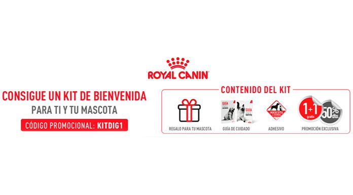 Consigue gratis un kit Royal Canin
