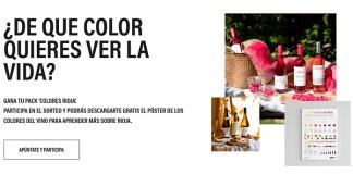 Gana un pack de colores Rioja