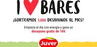 Juver sortea 1.000 desayunos al mes