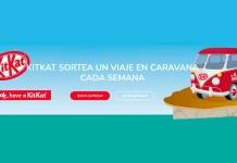KitKat sortea viajes en caravana