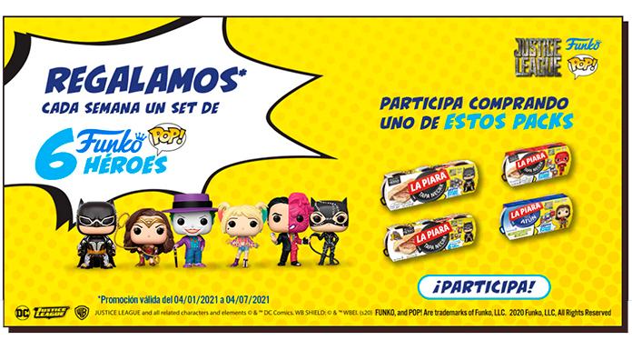 La Piara regala sets de Funko Pop Héroes