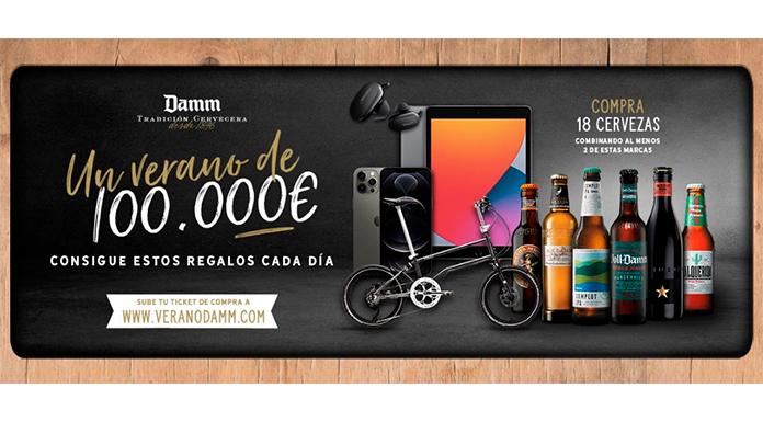 Un verano de 100.000 euros con Damm