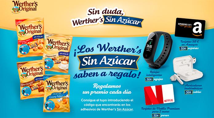 Werther's Original regala premios