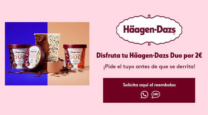 Haagen Dazs Duo 2 Euros
