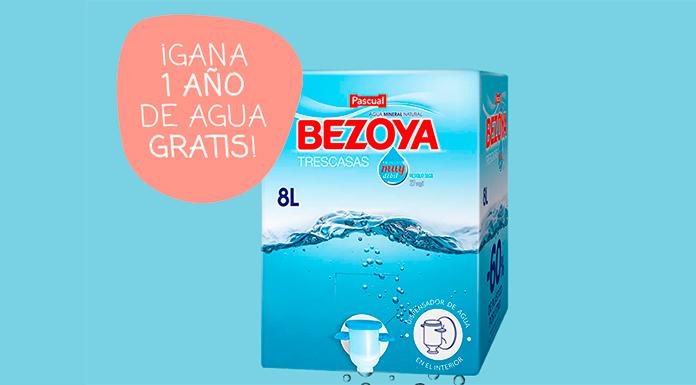 Gana 1 año de agua Bezoya gratis