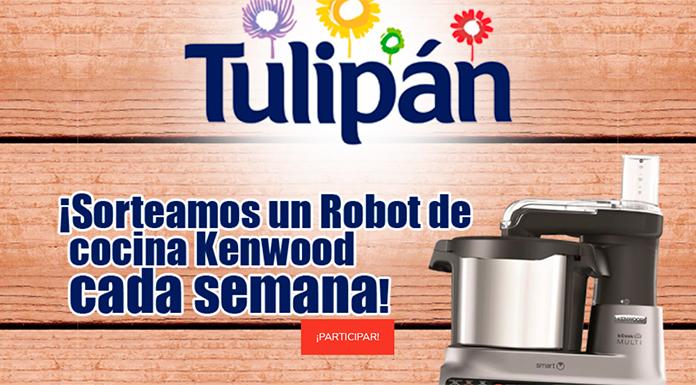 Tulipán sortea un robot de cocina cada semana