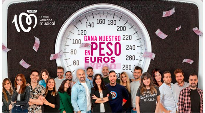 Gana el peso de Cadena 100 en euros