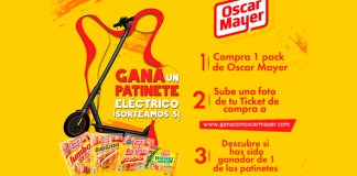 Gana un patinete eléctrico con Oscar Mayer