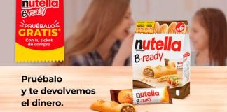 Prueba gratis Nutella B-Ready