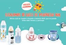 Regalan 10 lotes de productos Nuk