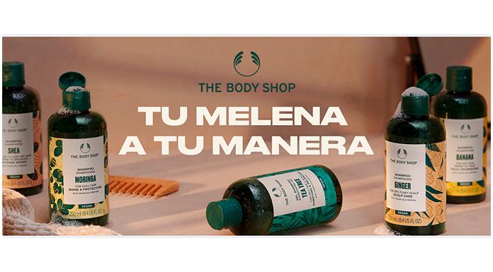 Sorteo de 5 lotes de productos con rutinas de cabello veganas The Body Shop