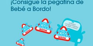 Consigue la pegatina de Bebé a Bordo Bezoya