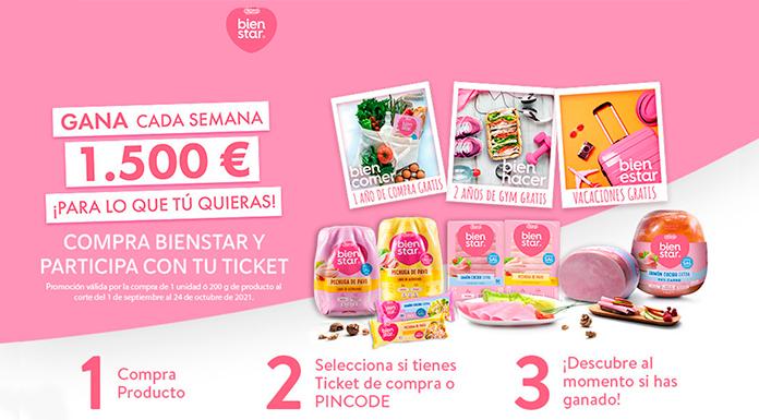 Gana 1.500 euros con Bienstar