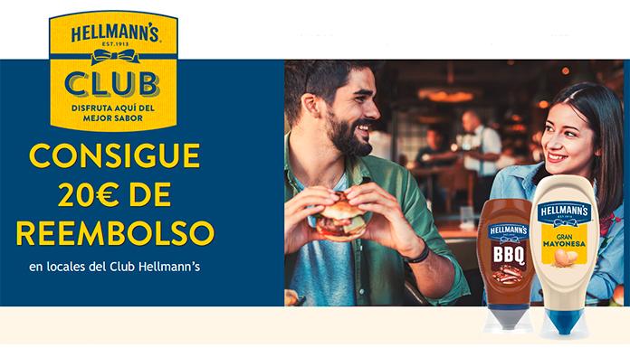 Gana 20 euros con Club Hellmann's