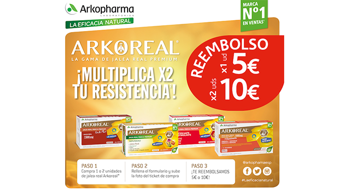 Reembolsos Arkopharma Arkoreal