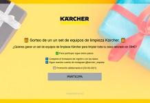 Sorteo de un set de equipos de limpieza Kärcher