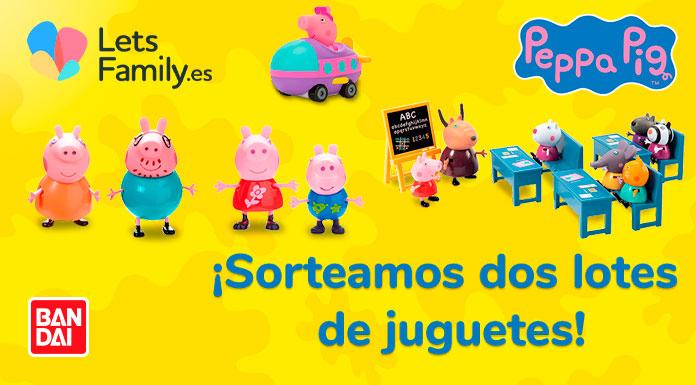 Lets Family sortea juguetes Peppa Pig