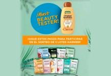 Beauty Tester: Sortean 3 lotes de productos Garnier