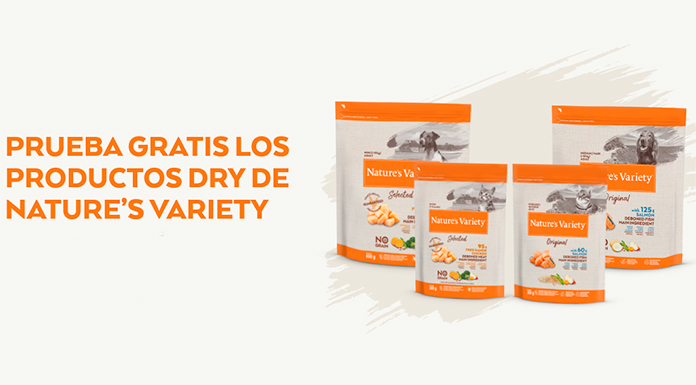 Prueba gratis los productos Dry De Nature's Variety