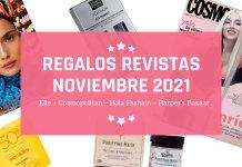 Regalos Revistas Noviembre 2021