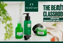 Sesión de belleza gratis The Body Shop