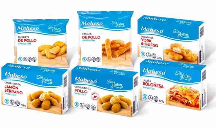 Vales de descuento de Maheso Sin Gluten