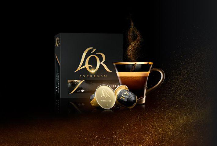 Cápsulas gratis de café L'Or Expresso