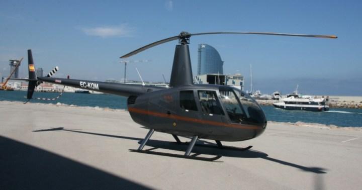 regalos para el Día del Padre - viaje en helicóptero