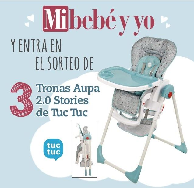 revista Mi Bebé y Yo gratis y sorteo de marzo