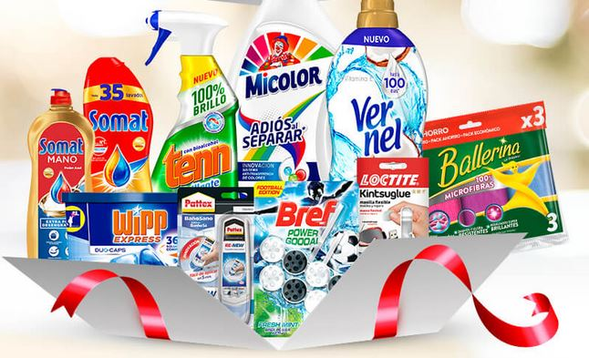 sorteo de 100 lotes de productos Henkel