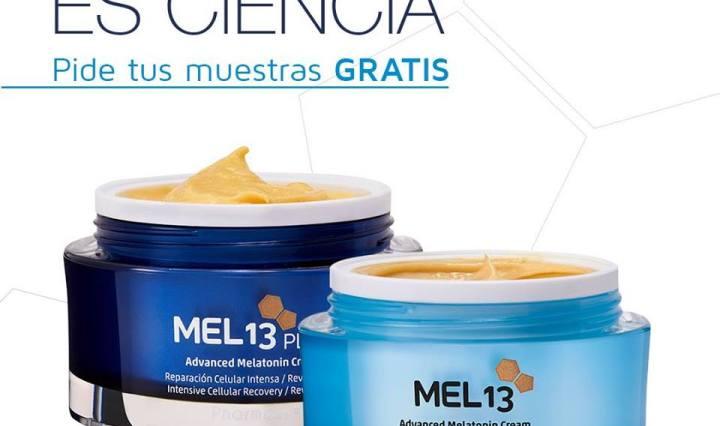 Muestras gratis de la crema Mel13