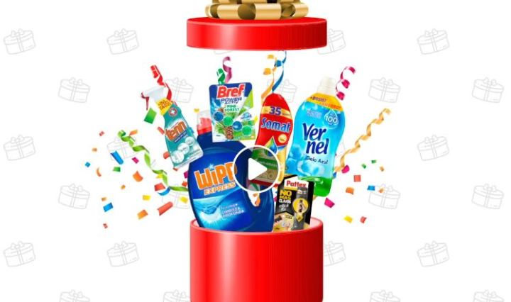 sorteo de 100 lotes de productos de limpieza Henkel