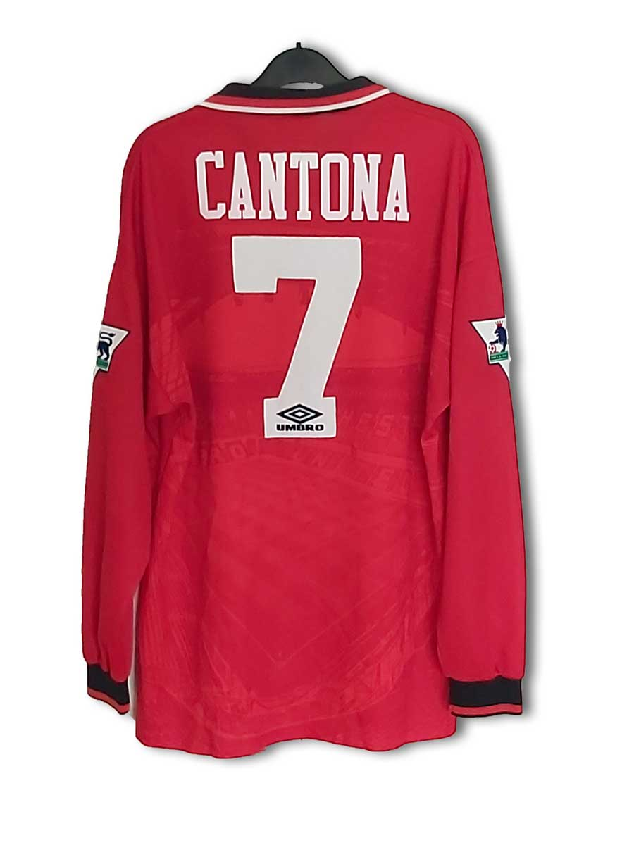 Manchester united 1996/1997/1998 home football shirt jersey #7 cantona. MUFC Collection | Forwards Shirts