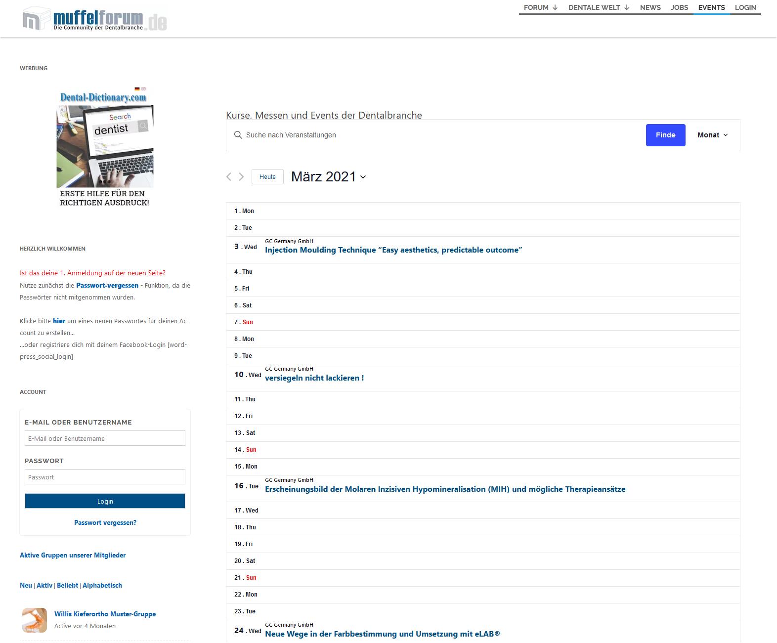 GC Germany Webinare