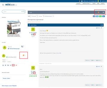 Private Nachrichten (PM)  neue Möglichkeit der Kontaktaufnahme zu anderen Mitgliedern.