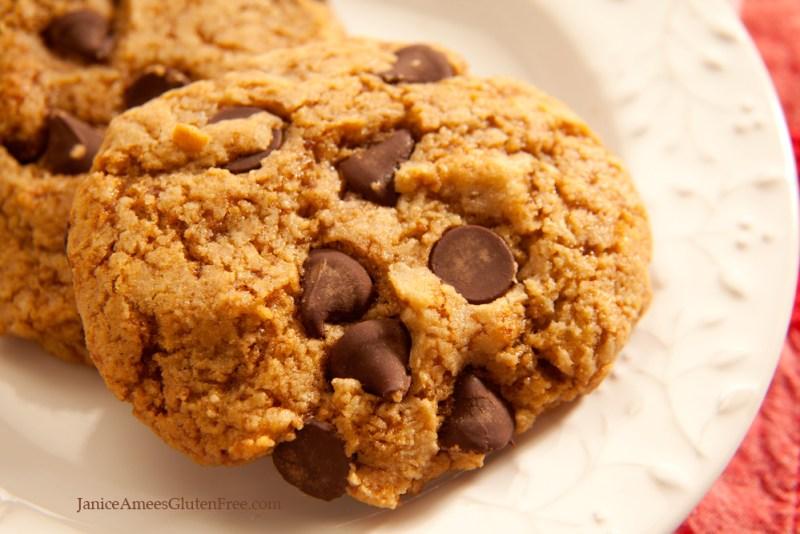 Healthier Gluten-Free Chocolate Chip Almond Cookies
