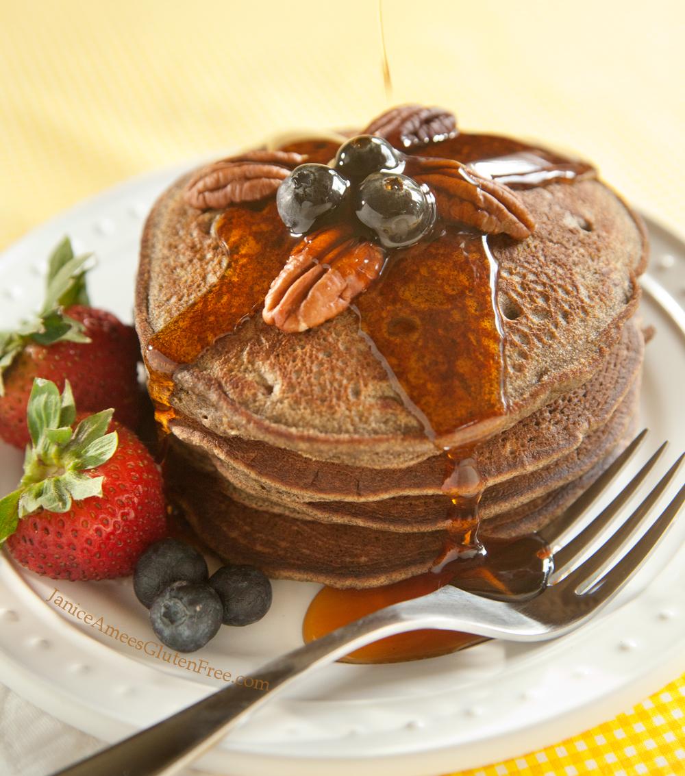 DELICIOUS Gluten-Free Buckwheat Banana Pancake Recipe!