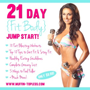 NEW 21 Day Fit Body Jump Start Program!