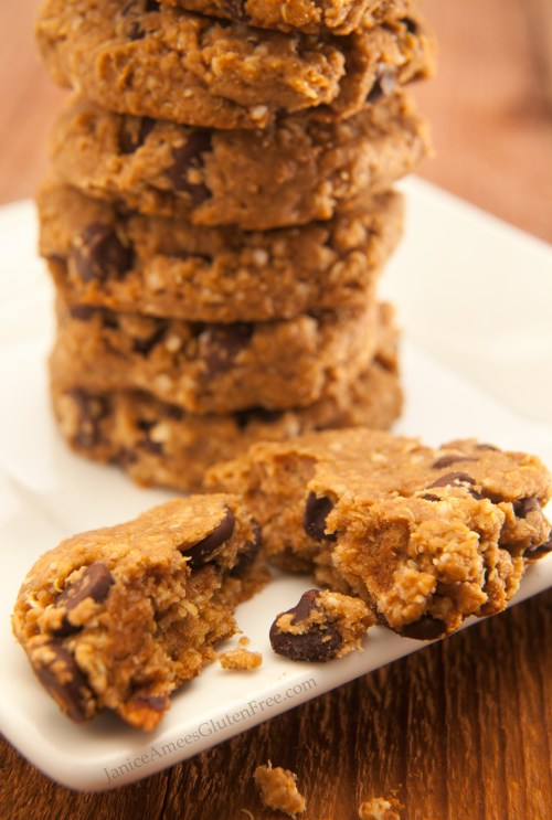Delicious Quinoa Peanut Butter and Chocolate Chip Cookie Recipe!