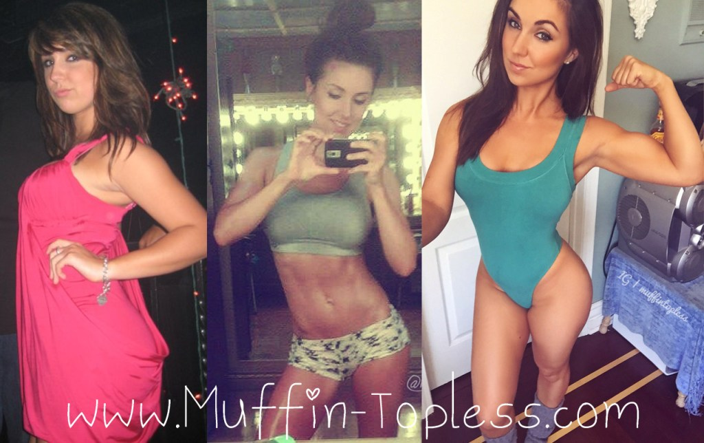 Finding Balance - Savannah Neveux (aka Muffin Topless) Transformation from unhealthy, to healthy, happy and fit