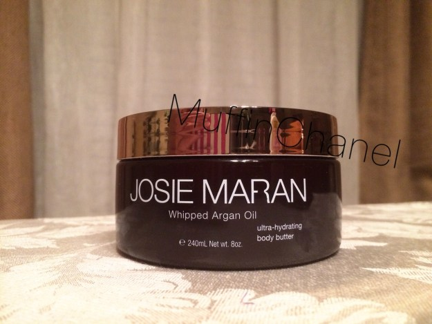 muffinchanel josie maran whipped argon oil best ever yay dry skin