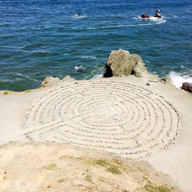 muffinchanel san francisco land's end park labyrinth