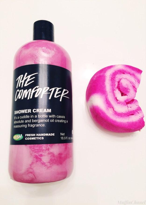 the comforter shower cream muffinchanel lush cosmetics