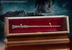 ไม้กายสิทธิ์ของแฮร์รี่ พอตเตอร์พร้อมแท่นโชว์ (Harry Potter Bronze Wand and Display)