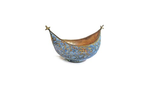 Blue mugal bowl